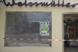 Der neue Laden wird renoviert