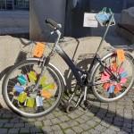 Fahrrad am Macerata-Platz