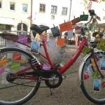 Fahrrad am Unteren Markt